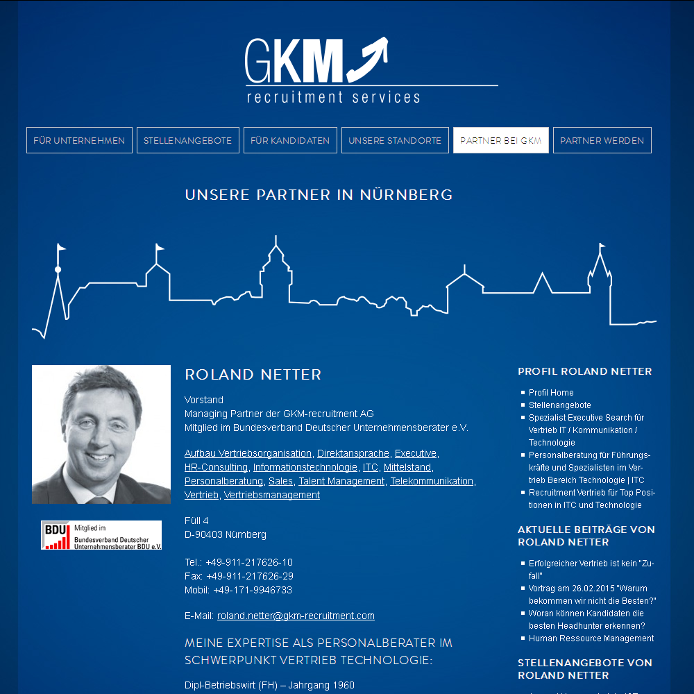 gkm-recruitment.com