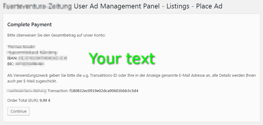 manual payment gateway for awpcp wordpress plugin kessler design rh kessler design com payment gateway manual testing payment gateway manual testing