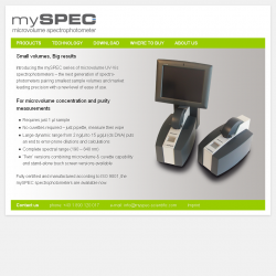mySPEC Scientific